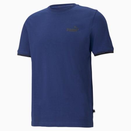 Amplified Men's Tee, Elektro Blue, small-SEA