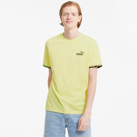 Amplified Men's Tee, Yellow Pear, small-GBR