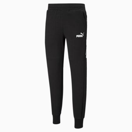 Męskie spodnie dresowe Amplified, Puma Black, small