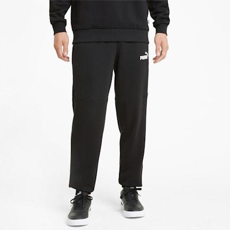 Amplified joggingbroek heren, Puma Black, small
