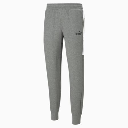 Męskie spodnie dresowe Amplified, Medium Gray Heather, small