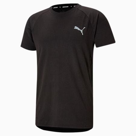 Evostripe Men's Slim T-shirt, Puma Black, small-IND
