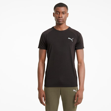 Evostripe Men's Tee, Puma Black, small-GBR