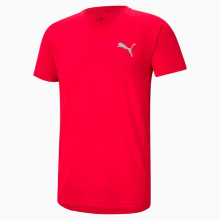 Evostripe Men's Slim T-shirt, High Risk Red, small-IND