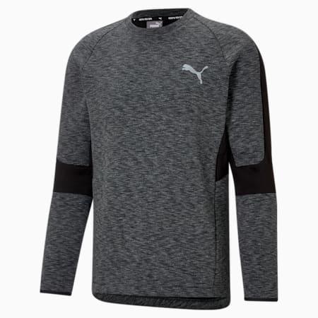 Evostripe Crew Neck Men's Sweater, Puma Black, small