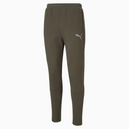 Evostripe Men's Slim Pants, Forest Night, small-IND