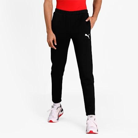 Evostripe Slim Fit Men's Sweat Pants, Puma Black, small-IND