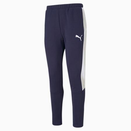 Evostripe Slim Fit Men's Sweat Pants, Peacoat, small-IND