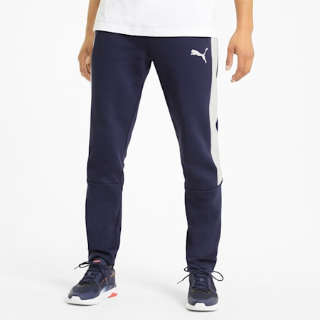 Pantalon de survêtement Evostripe homme, Peacoat, small
