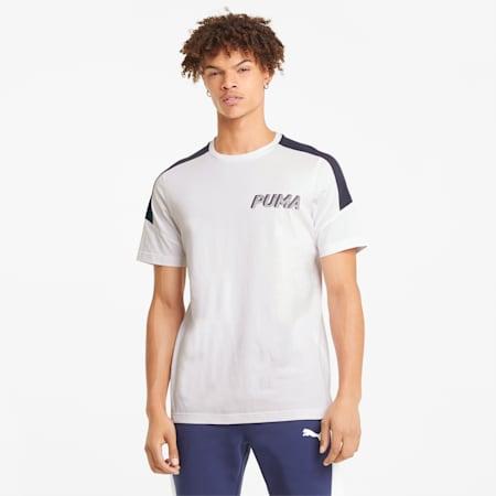 Modern Sports Advanced Men's Tee, Puma White, small-SEA