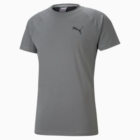 RTG Slim Fit Men's T-shirt, Medium Gray Heather, small-IND