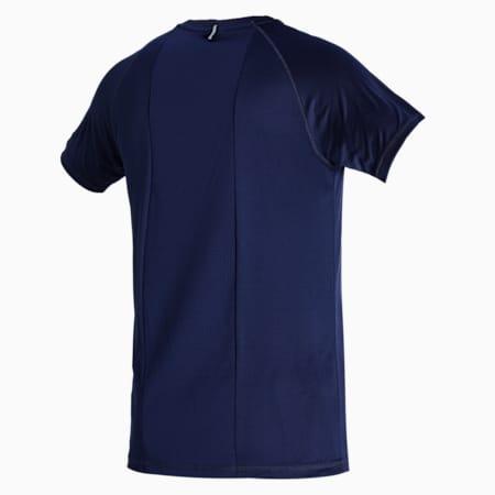 RTG Slim Fit Men's T-shirt, Peacoat, small-IND