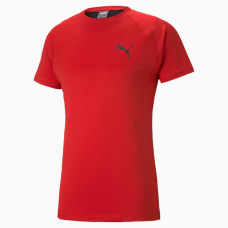 RTG Slim Fit Men's T-shirt, High Risk Red, small-IND