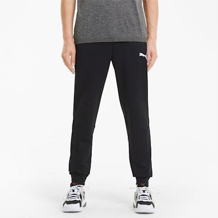 RTG Knitted Men's Sweatpants, Puma Black, small-GBR