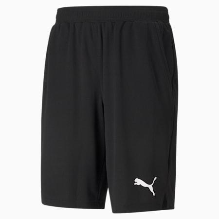 RTG Interlock Knitted Men's Shorts, Puma Black, small-IND