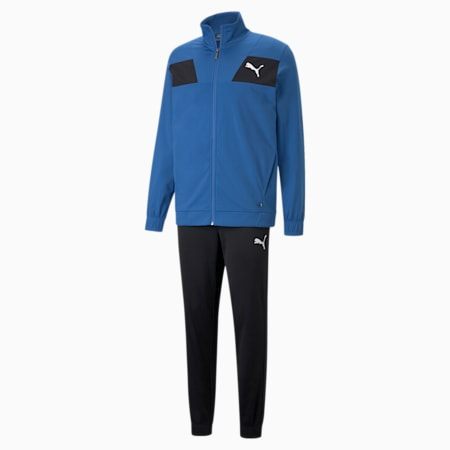 Techstripe Tricot Men's Tracksuit, Star Sapphire, small-IND