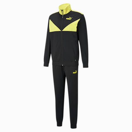Classic Tricot Men's Tracksuit, Celandine, small-IND