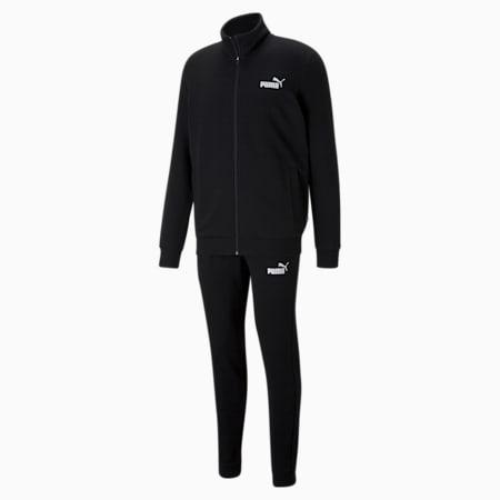 Clean Men's Tracksuit, Puma Black, small-GBR