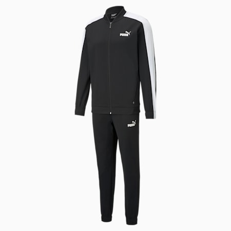 Baseball Tricot Men's Track Suit, Puma Black, small-IND