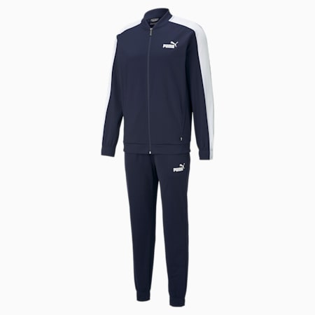 Baseball Tricot Men's Track Suit, Peacoat, small-IND