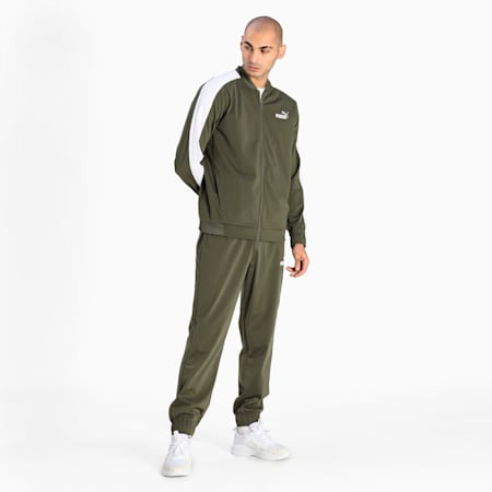 Baseball Tricot Men's Track Suit, Grape Leaf, small-IND