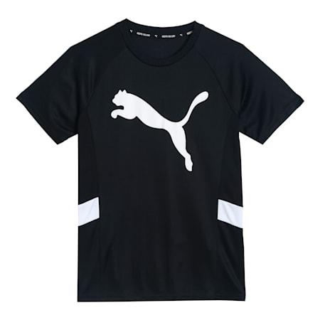 Active Sports Cat Kid's   T-shirt, Puma Black, small-IND