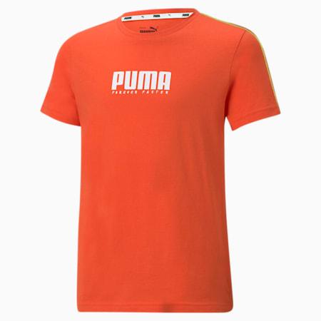 Młodzieżowy T-shirt Alpha, Tigerlily, small
