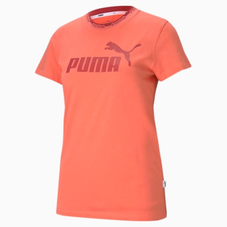 Amplified Graphic Women's  T-shirt, Georgia Peach, small-IND