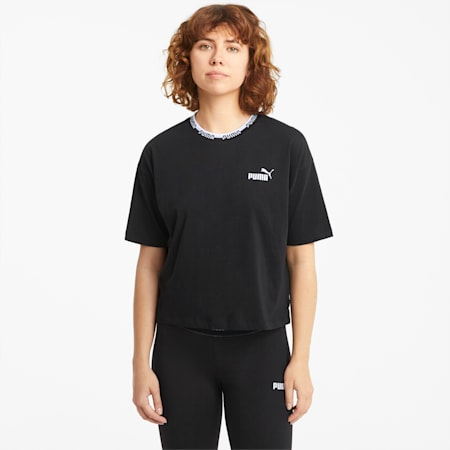 Amplified Women's Tee, Puma Black, small