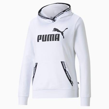 Amplified Women's Hoodie, Puma White, small-GBR