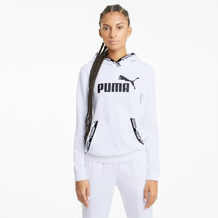 Amplified Women's Hoodie, Puma White, small
