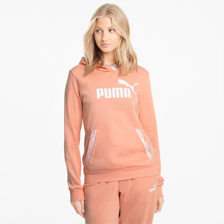 Amplified Women's Hoodie, Apricot Blush, small-GBR