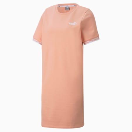 Amplified Women's Dress, Apricot Blush, small-GBR