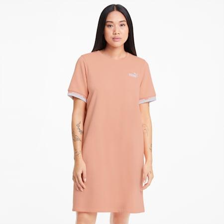 Amplified Women's Dress, Apricot Blush, small