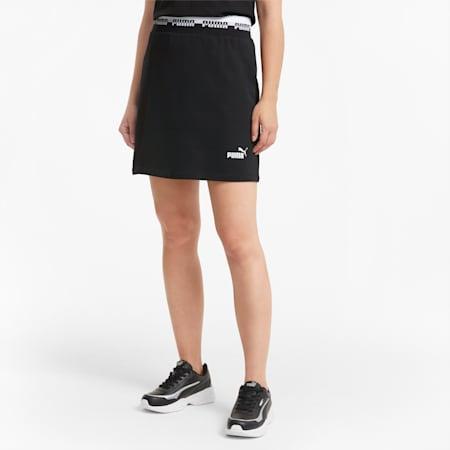 AMPLIFIED Women's Skirt, Puma Black, small-SEA
