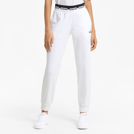 Amplified Women's Pants, Puma White, small