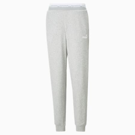 Amplified Women's Pants, Light Gray Heather, small