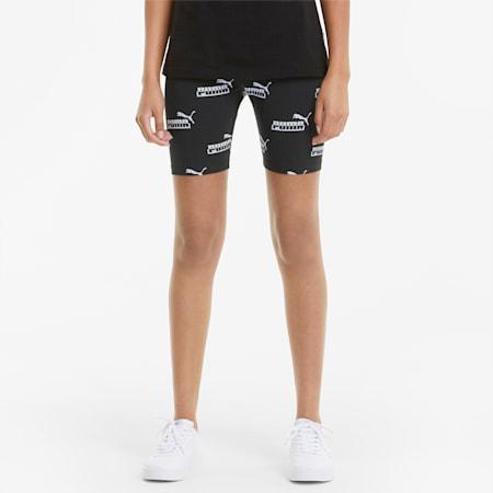 AMPLIFIED Short Women's Leggings, Puma Black, small-GBR