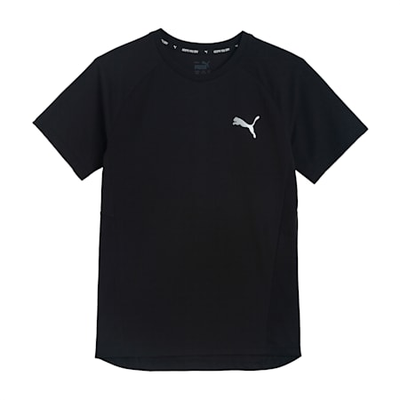 Evostripe Kid's   T-shirt, Puma Black, small-IND