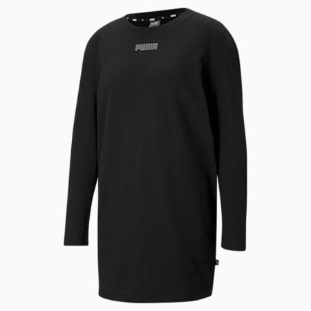 Modern Basics Crew Neck Women's Dress, Puma Black, small