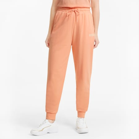 Modern Basics High Waist Women's Pants, Apricot Blush, small-GBR