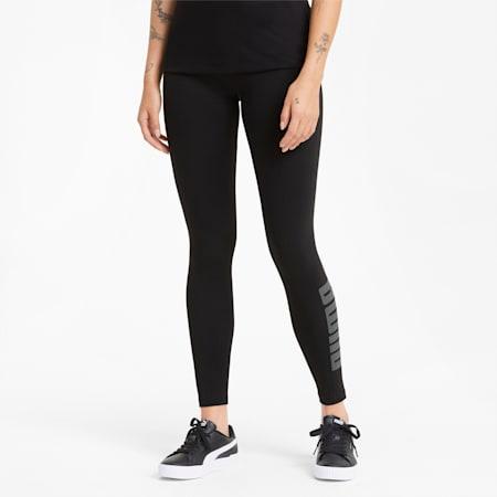 Modern Basics High Waist Women's Leggings, Puma Black, small-SEA