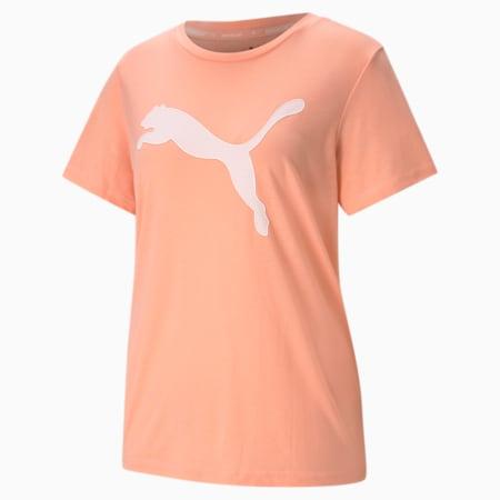 T-shirt Evostripe donna, Apricot Blush, small