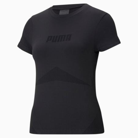 Evostripe evoKNIT Women's Tight T-shirt, Puma Black, small-IND