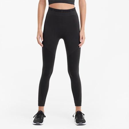 Evostripe evoKNIT Women's Leggings, Puma Black, small-GBR