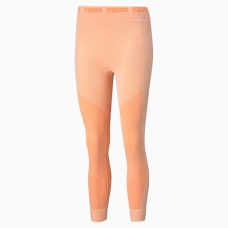 Evostripe evoKNIT Women's Leggings, Apricot Blush, small-IND
