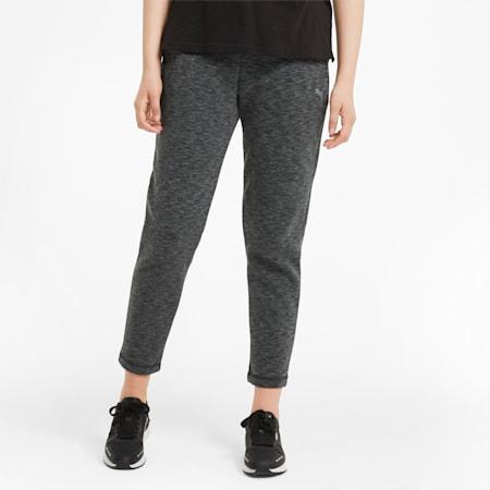 Evostripe Women's Sweatpants, Puma Black-Heather, small-GBR