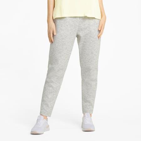Evostripe Women's Sweatpants, Puma White-Heather, small