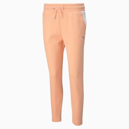 Evostripe Women's Sweatpants, Apricot Blush, small