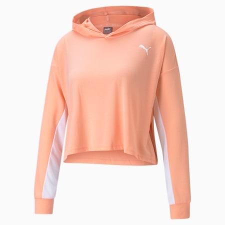 Modern Sports Light Women's Hoodie, Apricot Blush, small-IND